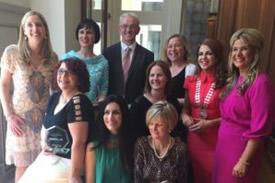 Clodagh Sheehan wins Network Cork Business Woman of the Year Award (SME 0-5 Employee)